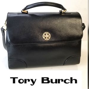 Tory Burch Black Satchel LeatherBag  -  Like New!